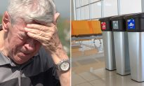 Stranger Steps In to Help an Elderly Man Who Was Forced to Throw Package in Airport Trash