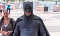 Man Dressed As Batman Gets Swiftly Rejected by Police When He Offers to Help Fight Crime