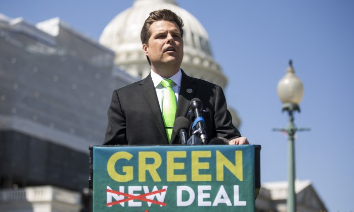 GOP to snatch defeat from jaws of victory?! 'Small number of GOP are vigorously pushing a Green New Deal-Lite' – Seeking 'Political Suicide'