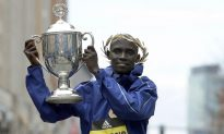 Kenya's Cherono Wins Men's Boston Marathon in Sprint to Tape