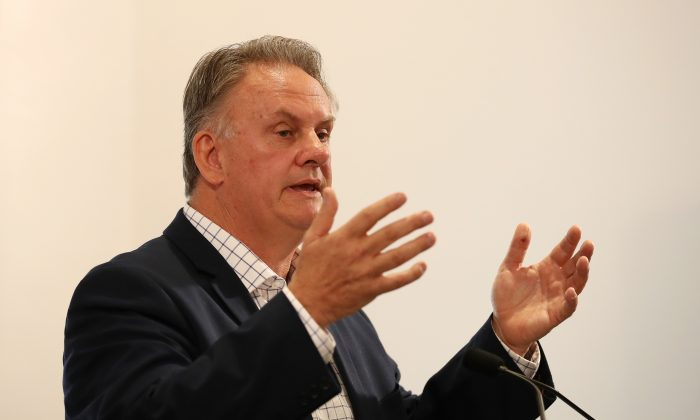 Mark Latham, former Leader of the Federal Labor Party from 2003 - 2005, Mark Latham now works as a journalist and political commentator. October 5, 2017 in Sydney, Australia. (Cameron Spencer/Getty Images)