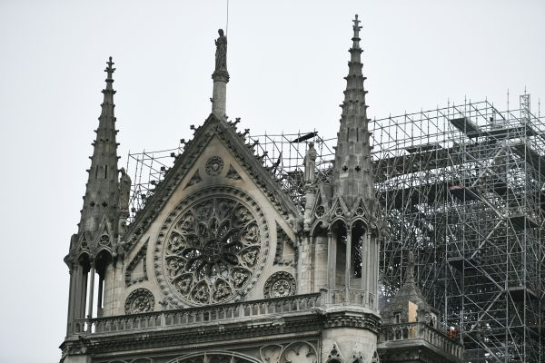 Ablaze: Notre Dame Catherdal in Paris engulfed in fire