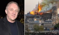 French Billionaire Vows to Donate $113 Million to Restore Historic Notre-Dame Cathedral