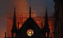 Fire Guts Paris' Notre-Dame, but Structure Saved From Destruction