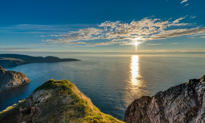 The northern coast of the island of Mageroya in Northern Norway. (Shutterstock)