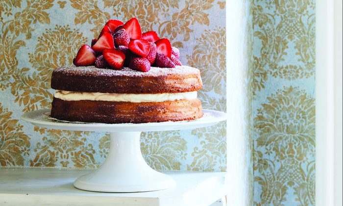 Williams' new cookbook is an ode to the simple pleasures to be found in cake. (Nicole Franzen)