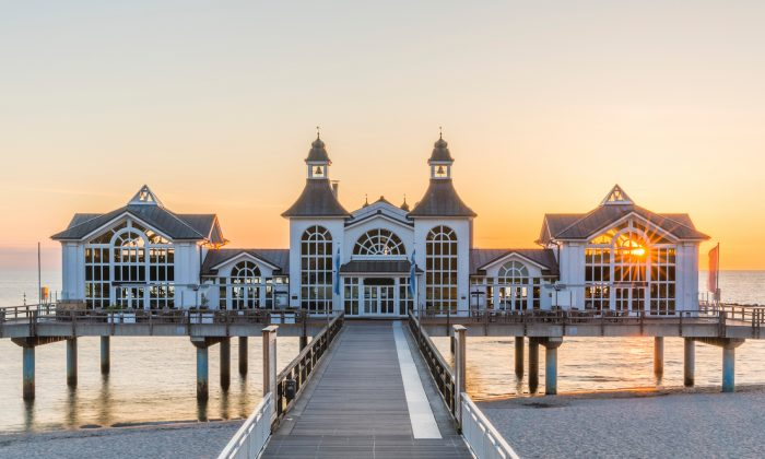 The historic Sellin pier. (IURII BURIAK/Shutterstock)