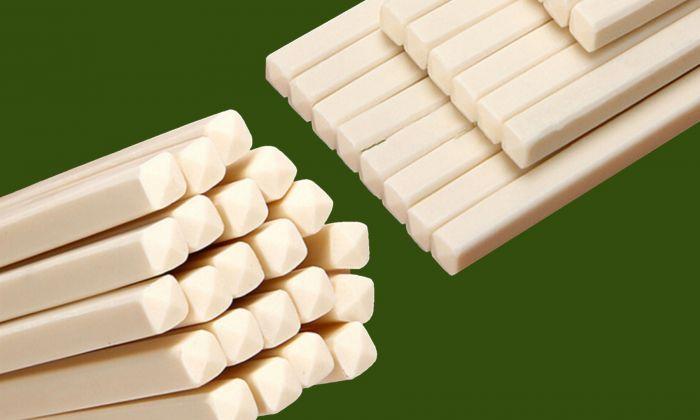 Taiwan customs recently found China-made chopsticks that contain formaldehyde, a known carcinogen. (Screenshot via Taobao.com)