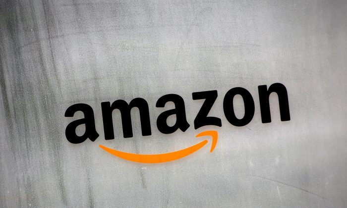 Amazon.com's logo is seen at Amazon Japan's office building in Tokyo on Aug. 8, 2016. (Kim Kyung-Hoon/Reuters)