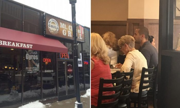 Elderly Lady Waits for Table in Packed Restaurant When Young Man Asks an Abrupt Question