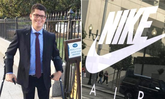 Teen With Cerebral Palsy Can't Tie His Shoes, So Nike Designs a Special Shoe for Him After He Writes Letter to CEO