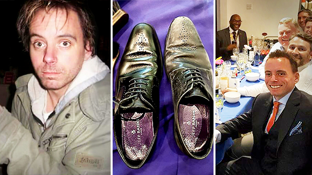 Former Actor Lost It All & Was Homeless, Before Starting a 6-Figure Shoe-Shining Business