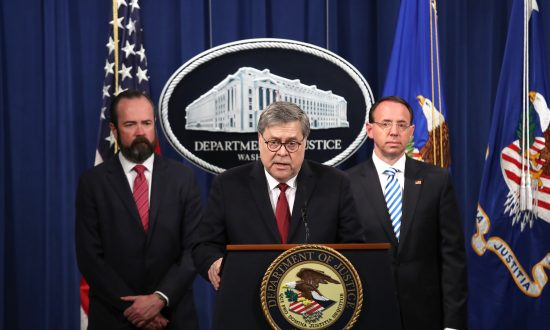 Barr Explains Conclusion of Mueller Probe: Trump Did Not Collude With Russia