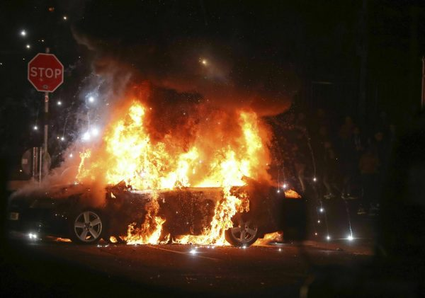 Riots in Ireland