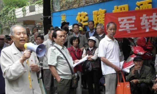 China Sentences Military Veterans for Protesting