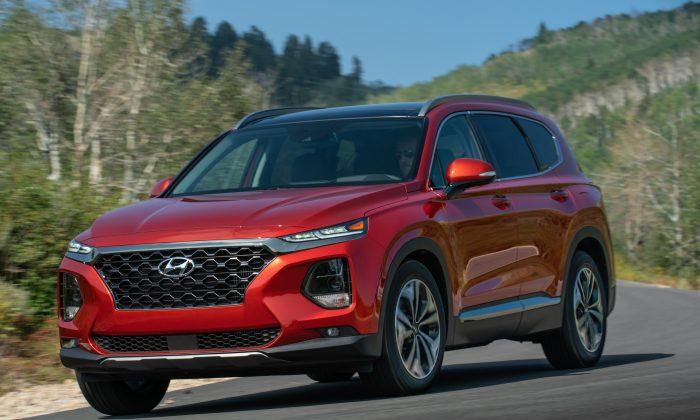 2019 Hyundai Santa Fe. (Courtesy of Hyundai)