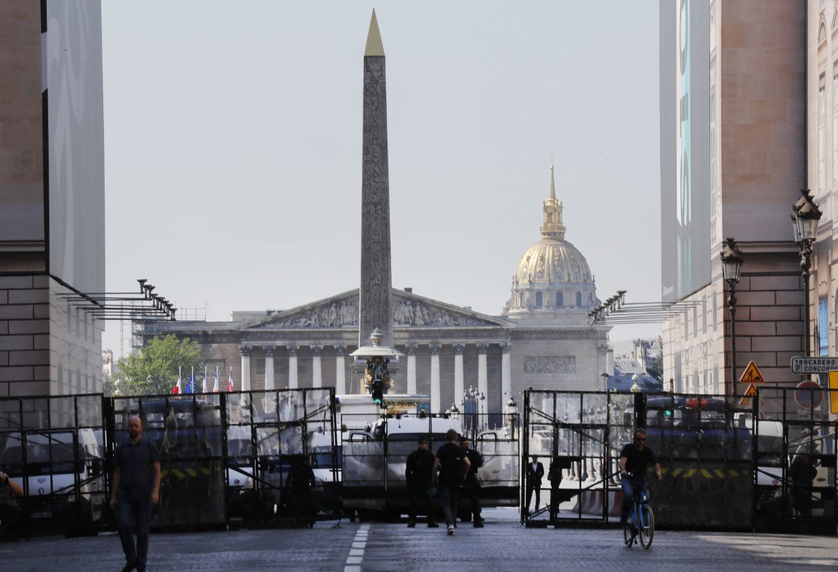 France Protests french police