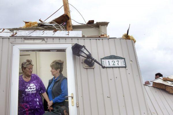 Destroyed home Mississipi tornado