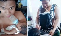Dad of 3 Takes Over Challenging Motherly Tasks When Wife's Away to Visit Ailing Father