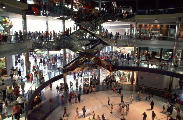 Boy thrown off shopping centre balcony regains consciousness
