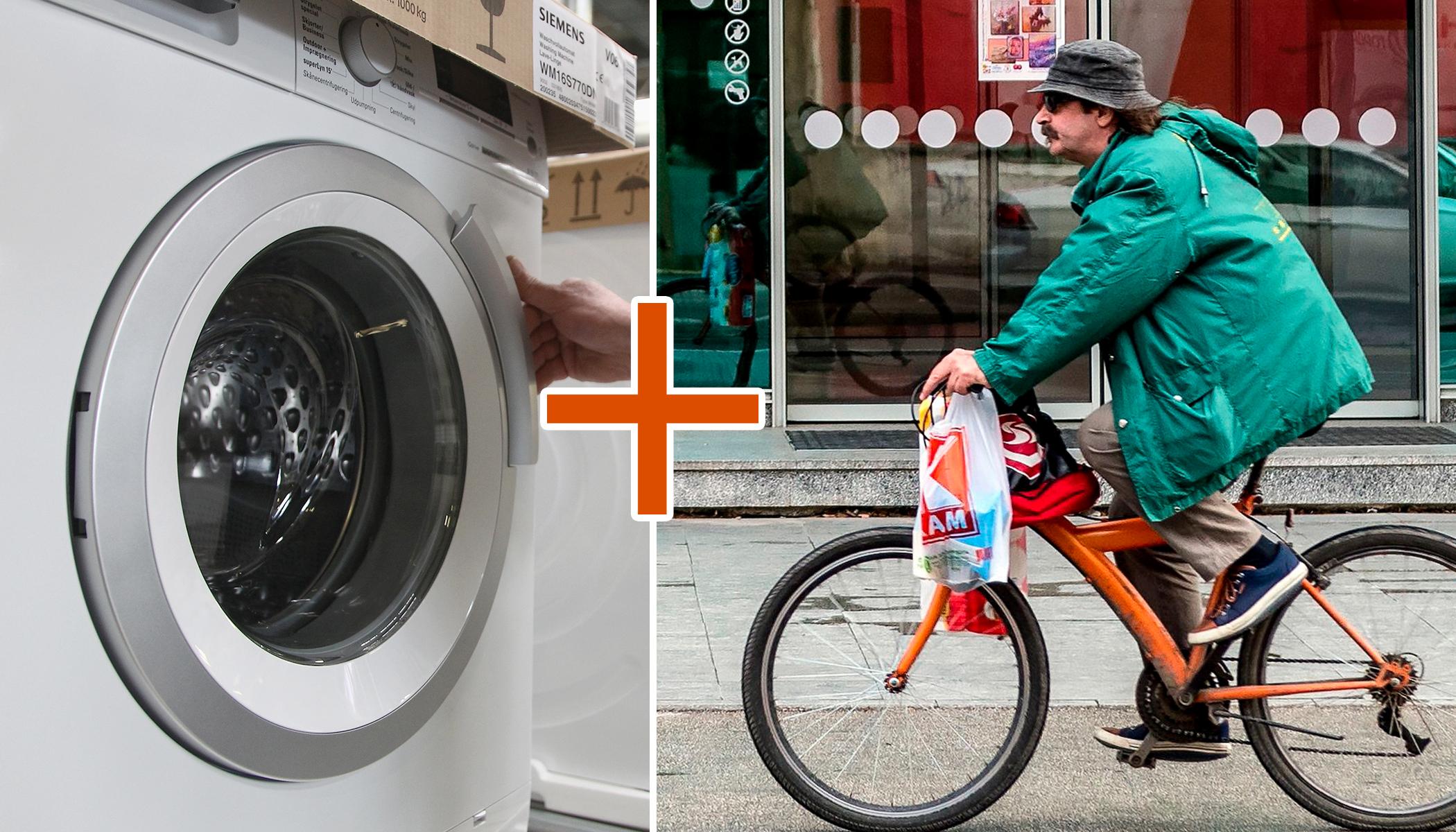 Bike Washing Machine >> Innovative Bike Washing Machine Combines Stationary Bike Exercise
