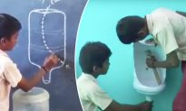 Meet the Indian Teens Who Designed Clean Urinals From Used Plastic Bottles