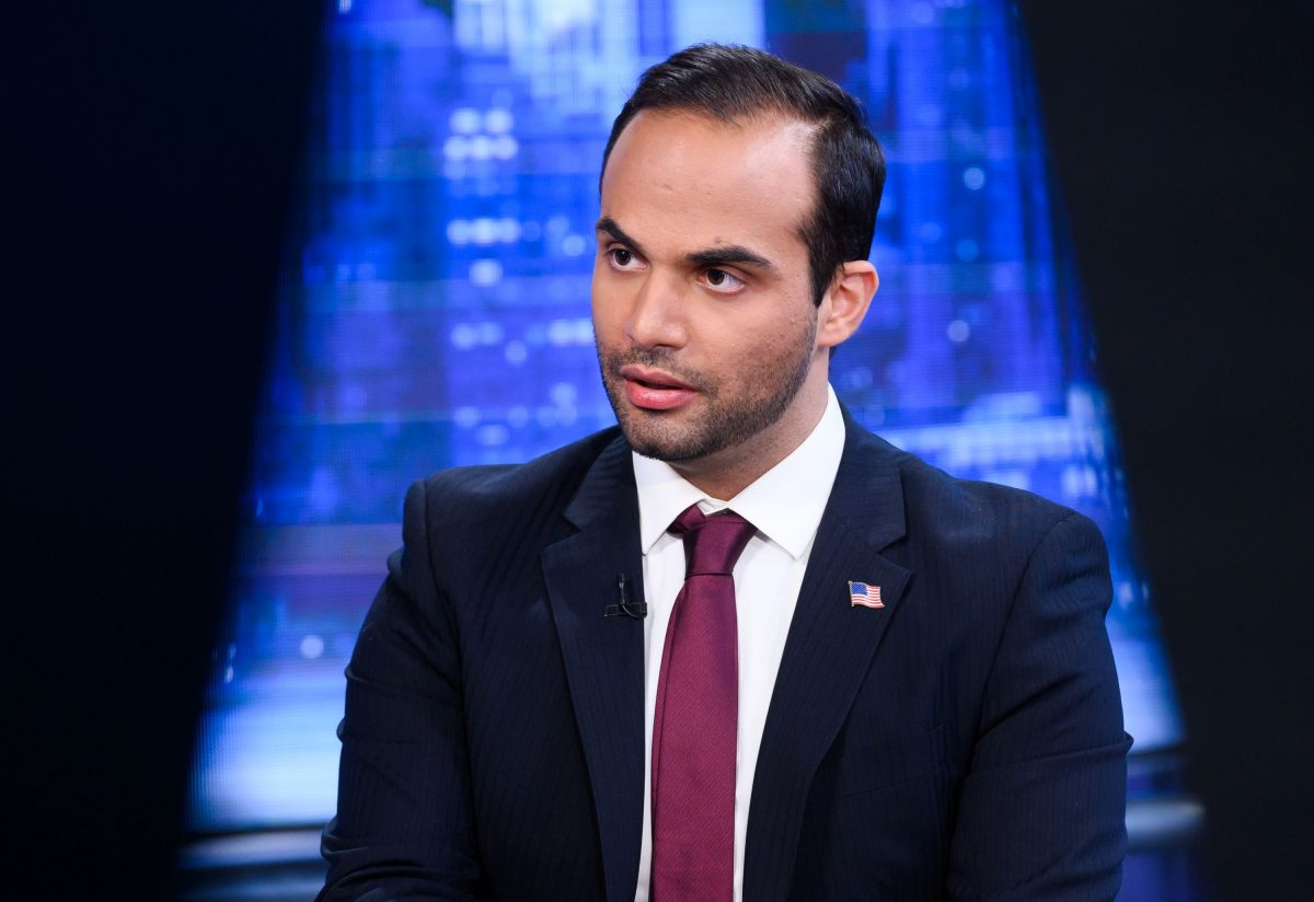 """George Papadopoulos visits """"The Story With Martha MacCallum"""" at Fox News Studios in New York"""