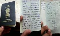 Crazy Life-Hack Gone Wrong: Wife Turns Husband's Passport Into Makeshift Phone Directory