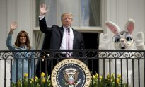 White House Adviser Kellyanne Conway Mocks Russian Collusion Narrative at White House Easter Egg Roll