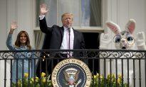 Trump Kicks Off Annual White House Easter Egg Roll