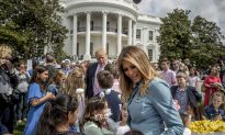 Trump to Child at Egg Roll: Wall 'Being Built Now'