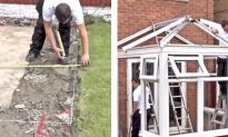 Video: Watch Step by Step How Man Builds Beautiful Conservatory From Scratch
