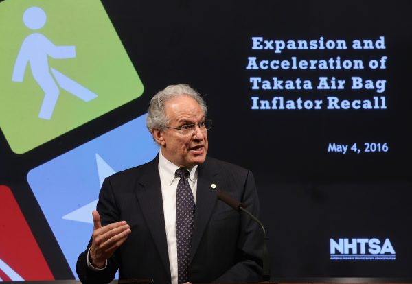 Mark Rosekind, Administrator of NHTSA