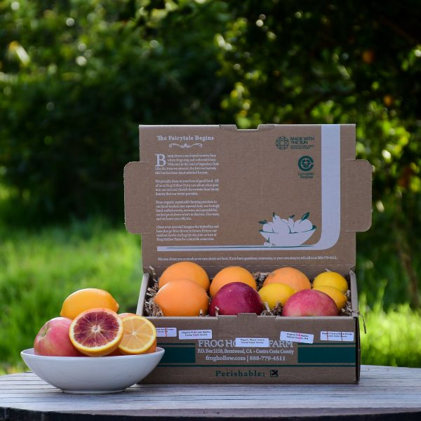 frog hollow farm organic mixed fruit box