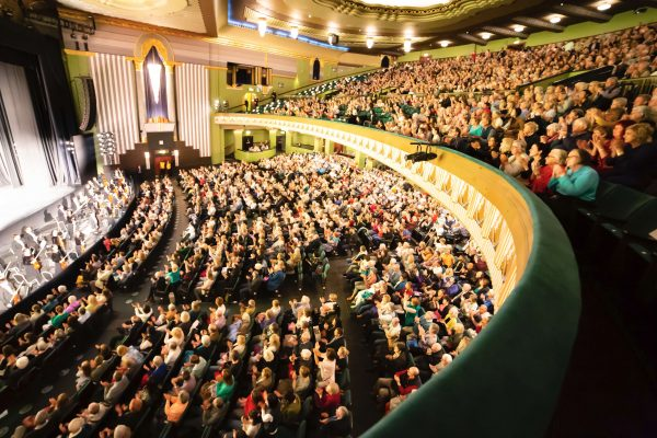 The audience at Shen Yun's matinee performance