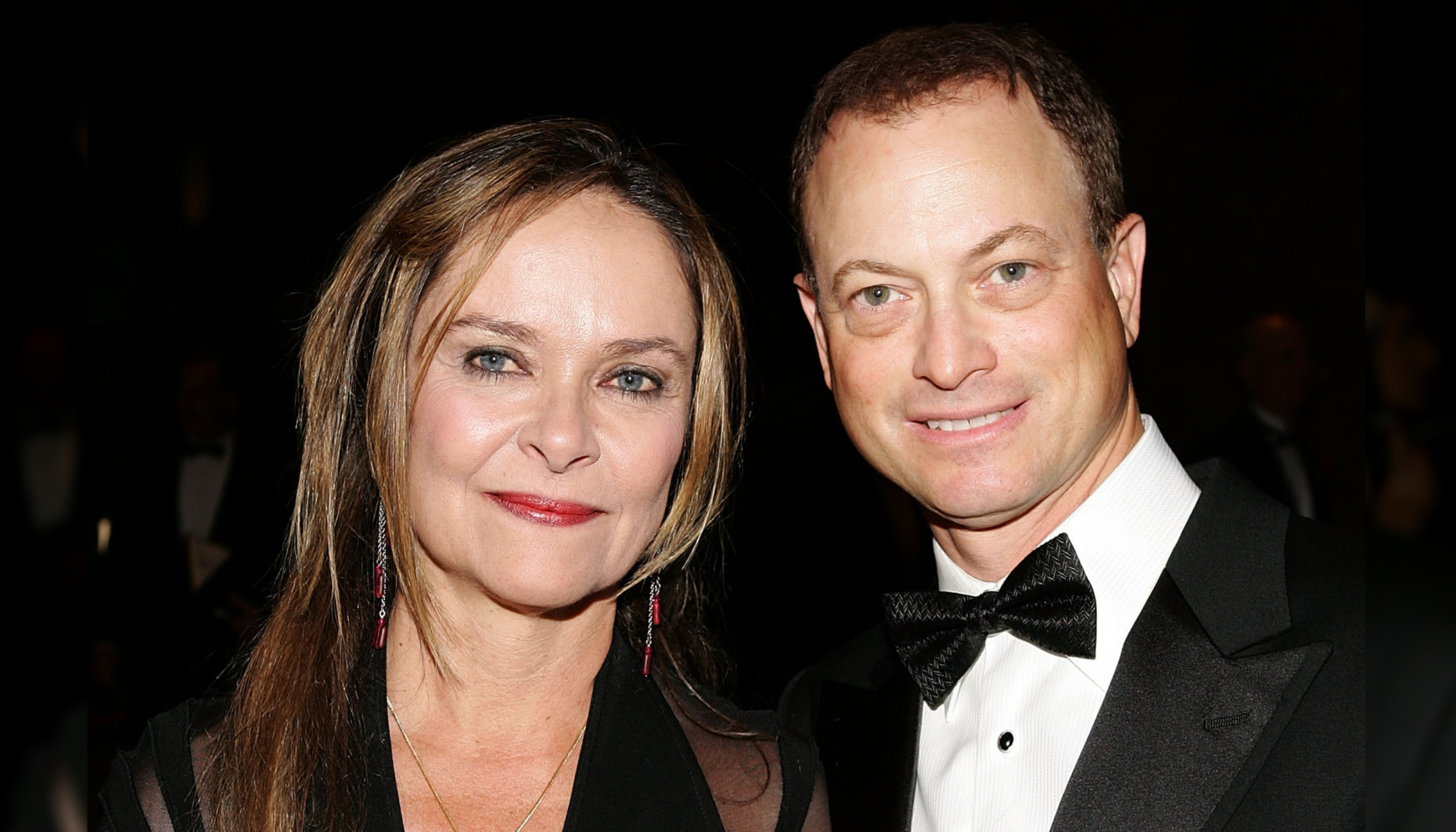 Gary Sinise with gracious, Wife Moira Harris