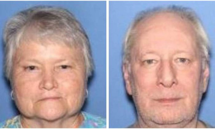 Patricia Hill (L), found guilty on April 24, 2019, of murdering her husband Frank Hill on July 28, 2018, at their home in Pine Bluff Ark. (Jefferson County Sheriff's Office)