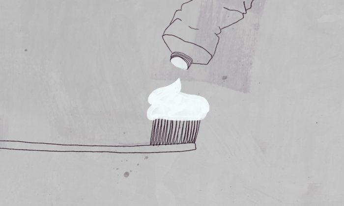 Toothpaste illustration. (CNN)