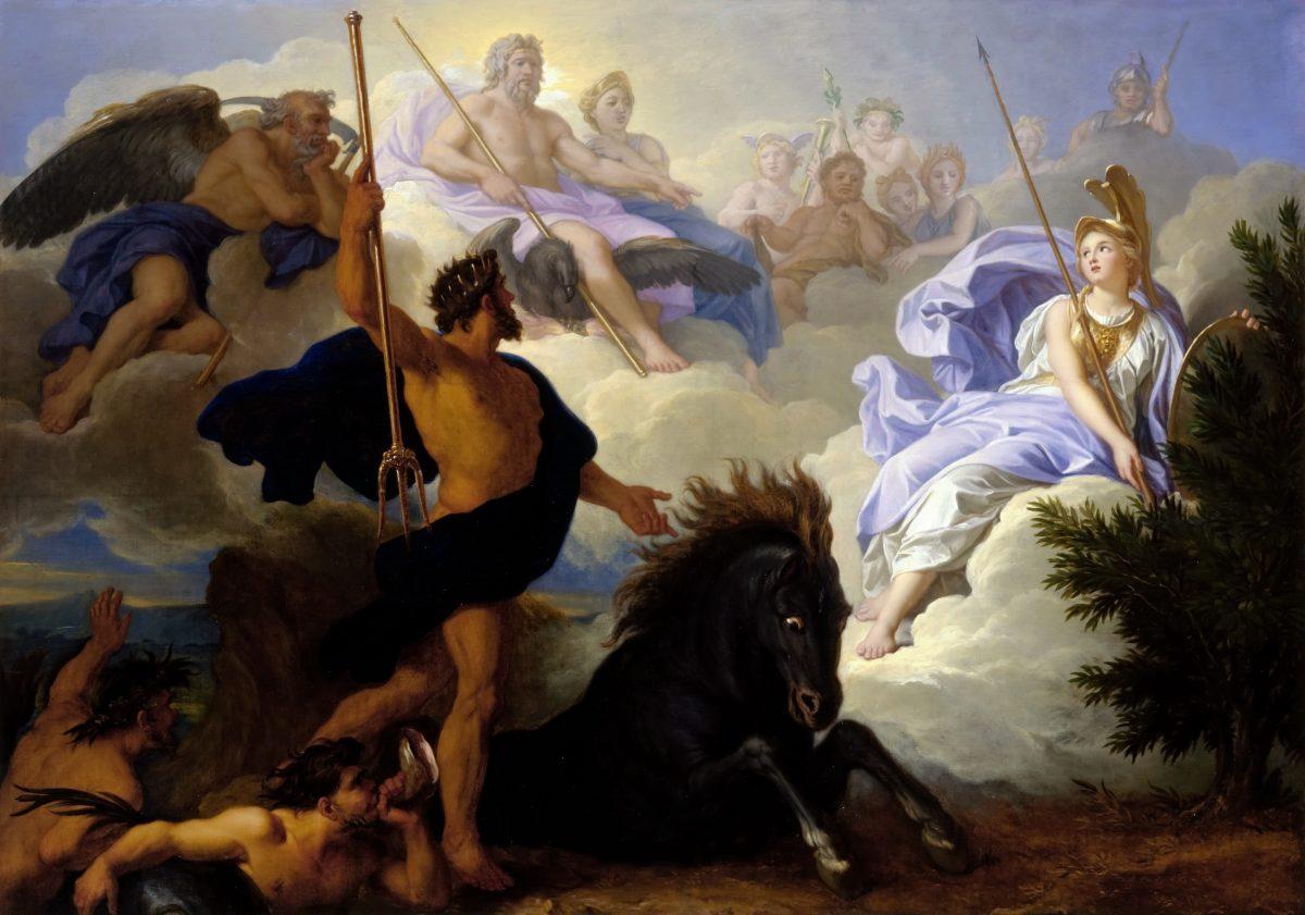 Dispute between Minerva and Neptune