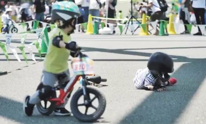 Boy Chooses Compassion Over Competition During Race