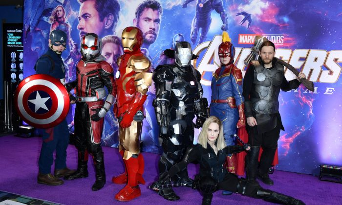 General atmosphere at the 'Avengers: Endgame' Canadian Premiere at Scotiabank Theatre in Toronto, Canada on April 24, 2019. (George Pimentel/Getty Images for Disney Studios)
