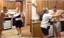Son Grabs Mom's Hand as Their Favorite Song Comes on – Now Watch the Dance That Lights up the Internet