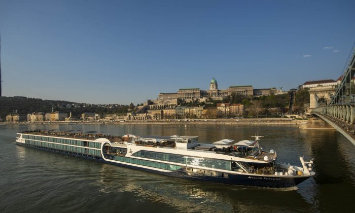 The 443-foot, 166-passenger Avalon Envision. (Courtesy of Avalon Waterways)