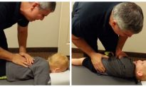Chiropractic Adjustment For Kid Goes Viral