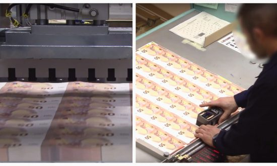 This Is How 50 Euro Banknotes Are Printed