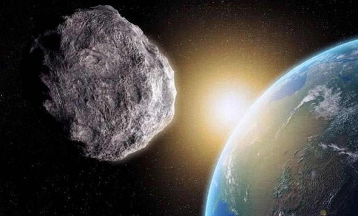Meteorite Hitting Earth