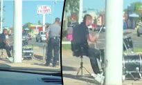 Oklahoma Officer Jams on Drum Kit in Unusual Noise Complaint Response