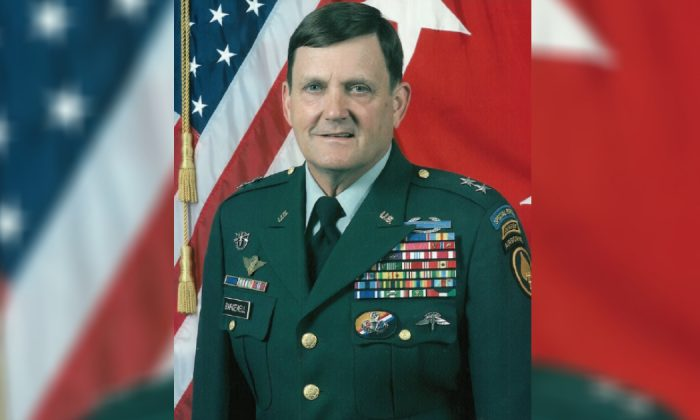 Former Delta Force Commander and Retired Major General Eldon Bargewell in a file photo dated July 15, 2017. (Wikimedia Commons)