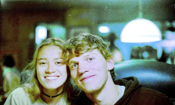 Riley Howell (R) in a Sept. 1, 2017 file photo. Charlotte-Mecklenburg Police Chief Kerr Putney said Howell's actions likely saved the lives of other students. (Matthew Westmoreland via AP)