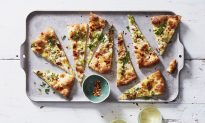 White Clam Pizzas With Scallions and Bacon